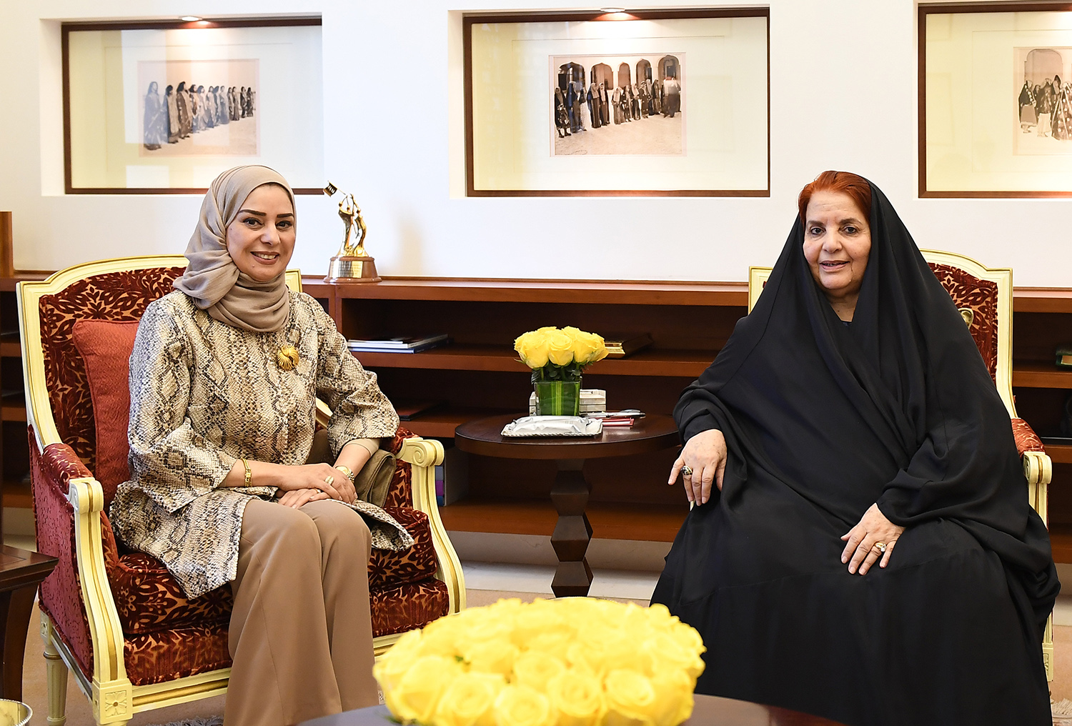 HRH Princess Sabeeka receives Speaker