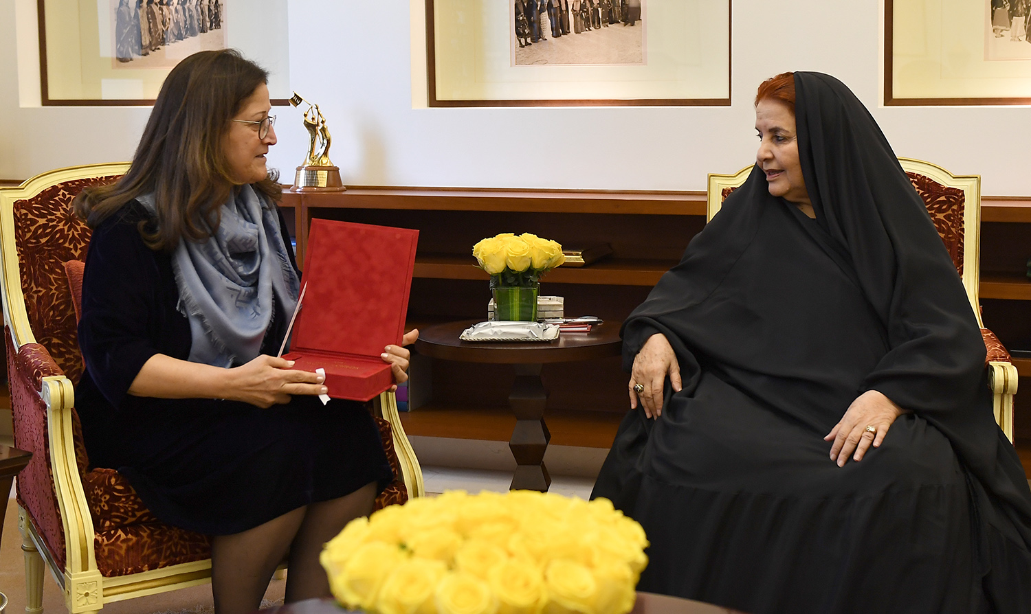 HRH Princess Sabeeka receives Royal Court Special Envoy