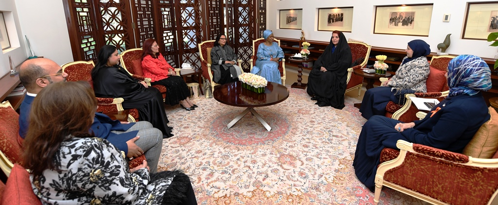 Princess Sabeeka receives UN Women executive director