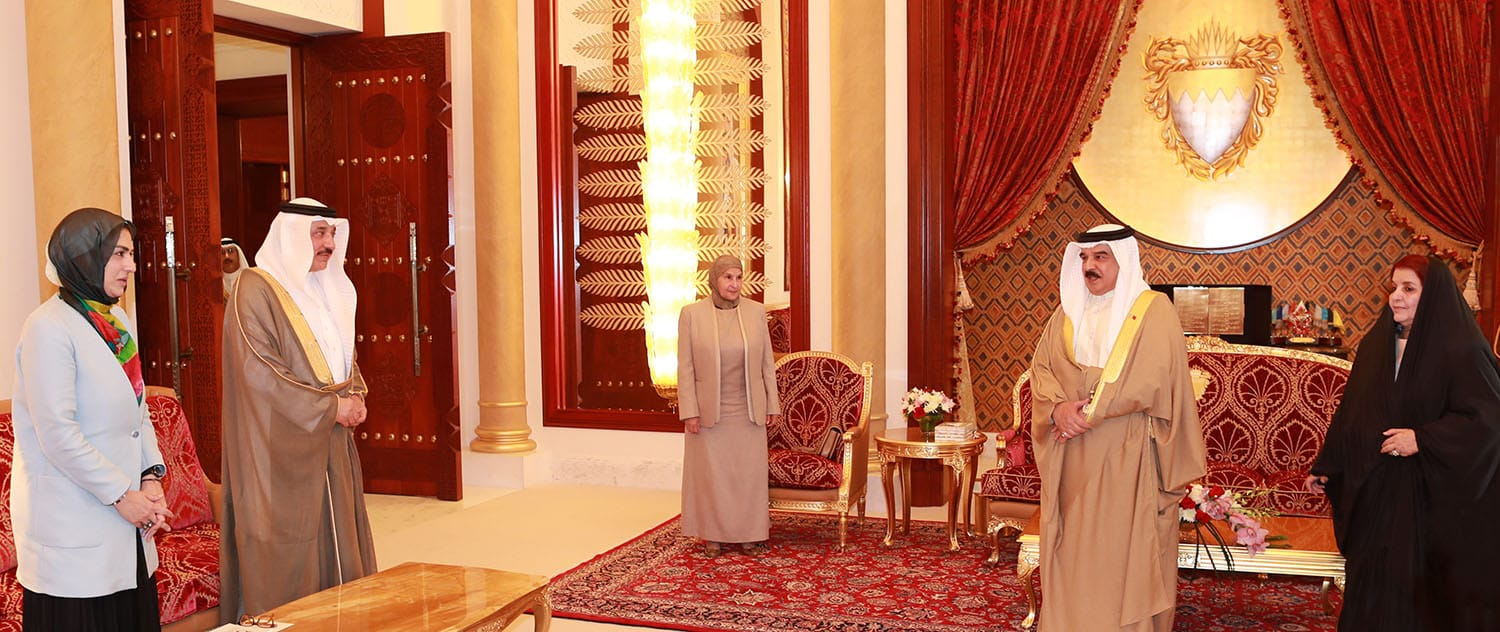 HM King commends Bahraini women's strides