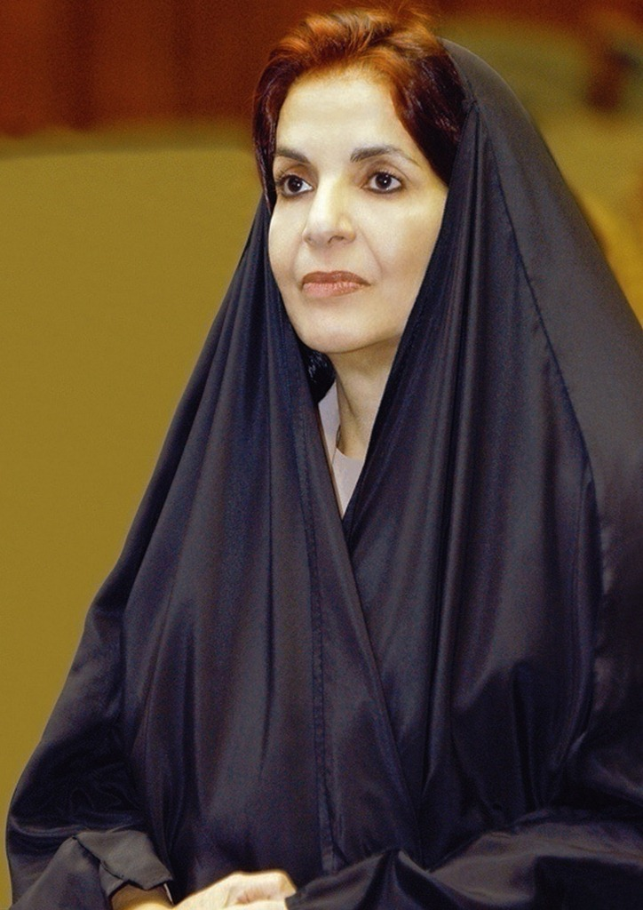 HRH Princess Sabeeka congratulates award-winner