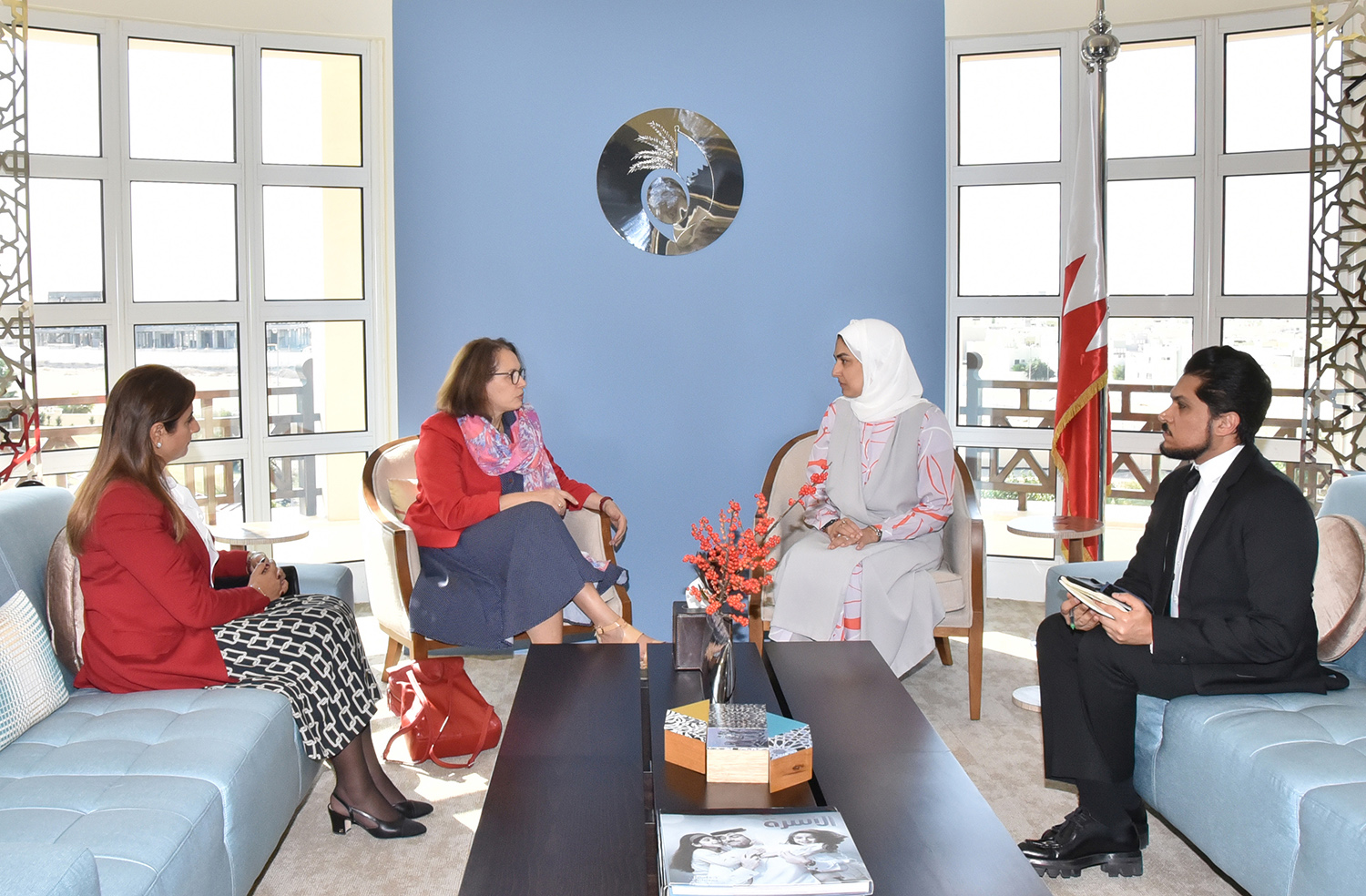 SCW Secretary-General receives French MP