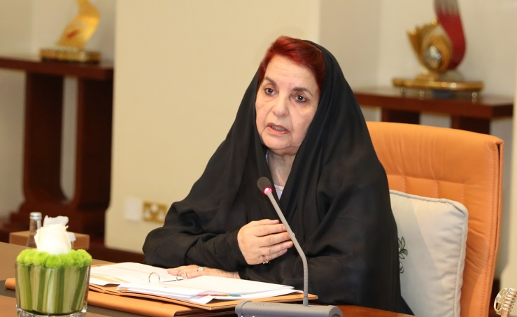 HRH Princess Sabeeka chairs SCW meeting