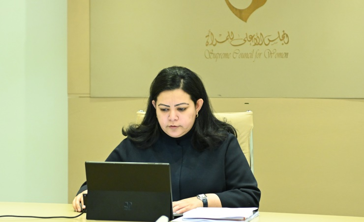 SCW participates in Arab Women Committee's 40th session